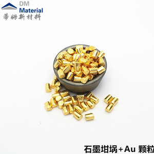 金 颗粒(Au)